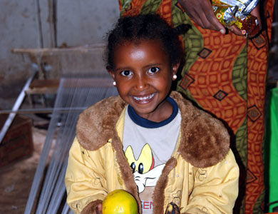 Kind in Addis Abeba