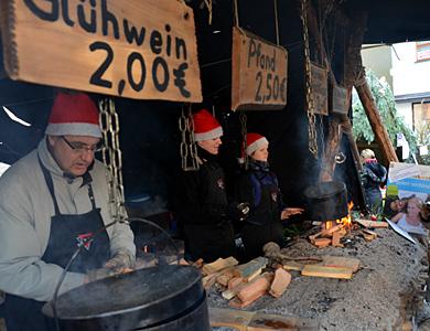 07.-09.12.12 - CVJM-Weihnachtsmarktstand